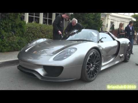 Porsche 918 Spyder Porsche 918 Spyder - On The Road