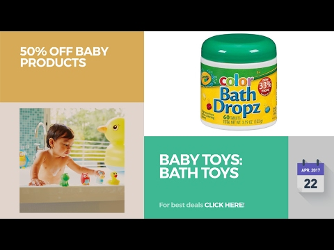 Baby Toys: Bath Toys 50% Off Baby Products