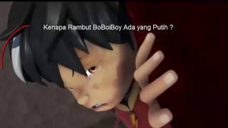 #BoBoiBoy Terbaru Rahasia dibalik Rambut Putih BoBoiBoy di BoBoiBoy The Movie, yang mo komen disini ya: http://www.youtube.com/watch?v=2NePC469Heo  Berikut adalah komentar pendapat teman fans BoBoiBoy yang Gokil tentang dibalik rahasia putihnya rambut BoBoiBoy ketika lepas topinya.. dan gimana menurut korang semua?