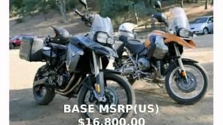 1. 2009 BMW R 1200 GS  motorbike Details