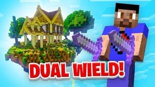 GETTING DUAL WIELD! - Minecraft SKYBLOCK #10