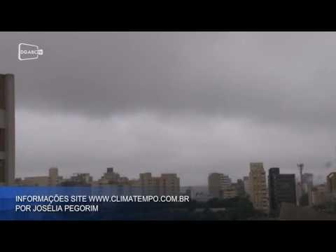 Temperaturas caem drasticamente; veja vídeo com a previsão do tempo
