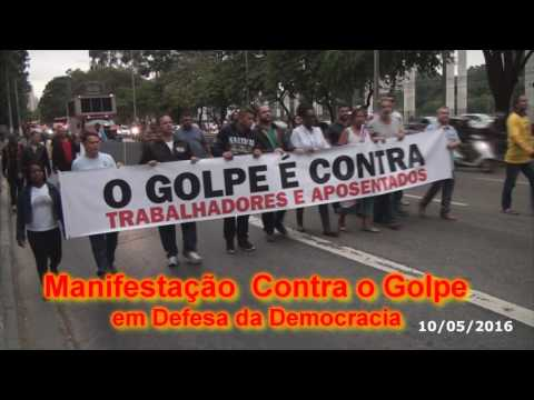Manifestação Contra o Golpe e em Defesa da Democracia