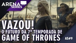 """Boatos dizem que vazaram alguns """"roteiros"""" da 7ª temporada de Game of Thrones. Piero e Marcelo conversam e explicam esses..."""
