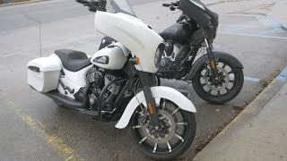 5. Getting the 2018 and 2019 Indian Chieftain Dark Horse serviced