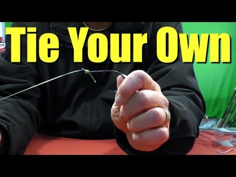 FISHING KNOTS – How to SNELL FISH Hooks Quick Easy and Strong Method for Saltwater Fishing