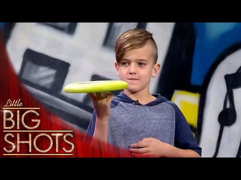 Frisbee Tricks Tutorial With Will @Best Little Big Shots
