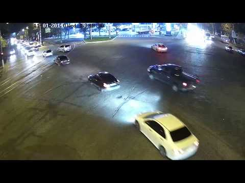 Авария с мотоциклистом в Одессе