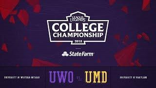 Video Western vs Maryland | QuarterFinals Game 1 | 2018 College Championship | UWO vs UMD MP3, 3GP, MP4, WEBM, AVI, FLV Juli 2018