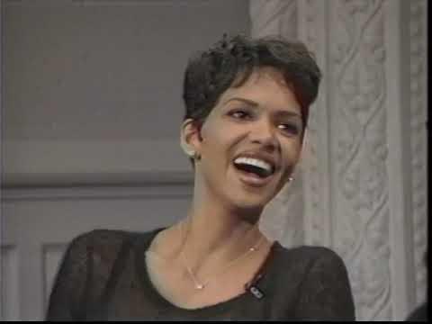 "Halle Berry on Letterman Promotes ""Race the Sun"" & Talks Solar Energy - 3/21/1996"