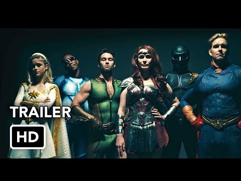 The Boys (Amazon) Trailer #2 HD - Superhero Series