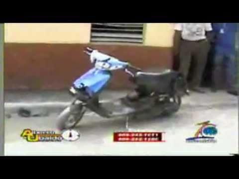Supuestos ladrones intentan entrarle a machetazo a un hombre en La Vega