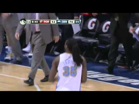 Portland Trail Blazers 95 – Denver Nuggets 104