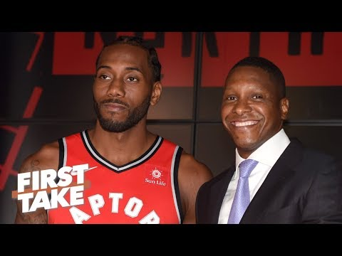 Will Kawhi stay with the Raptors now that Masai Ujiri is a lock? | First Take