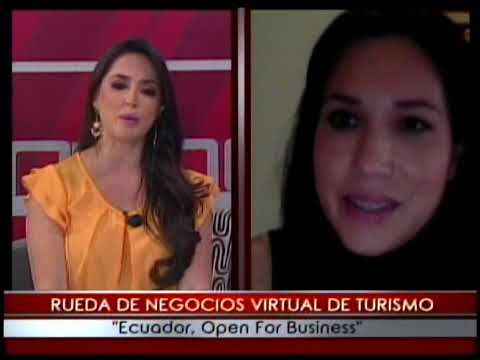 Rueda de negocios virtual de Turismo Ecuador, Open for Business