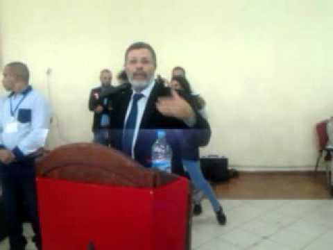كلمة برلماني إقليم العرائش محمد السيمو خلال لقاء تواصلي بالقصر الكبير
