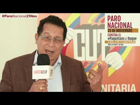 Pedro Luis Arango invita al #ParoNacional21N