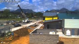 2014-06-12 - Estes Park Fairgrounds MPEC Time-Lapse