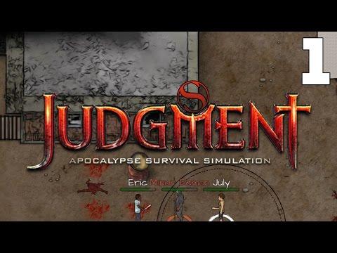 JUDGMENT: APOCALYPSE SURVIVAL SIMULATION – Let's Play Judgment Apocalypse (Gameplay) Part 1