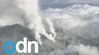 Volcanic Eruption In Japan: Survivors Airlifted From Scene