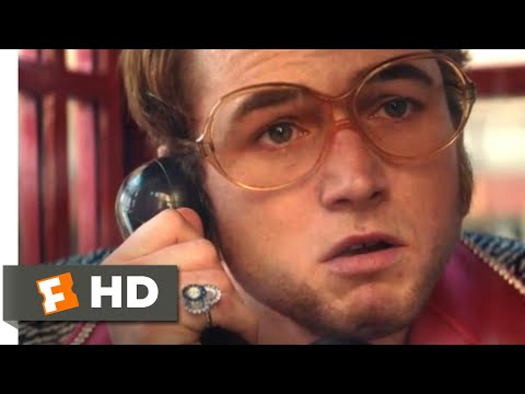Rocketman (2019) - You'll Never Be Loved Scene (4/10) | Movieclips
