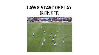http://www.kids-play-soccer.com There are the basic soccer rules according to FIFA. The 17 laws of the game to understand and ...