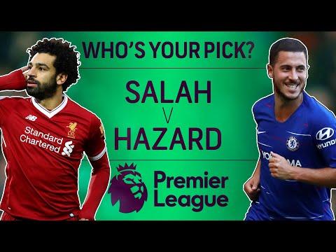 Video: Liverpool's Mohamed Salah v. Chelsea's Eden Hazard: Who's Your Pick? | Premier League | NBC Sports
