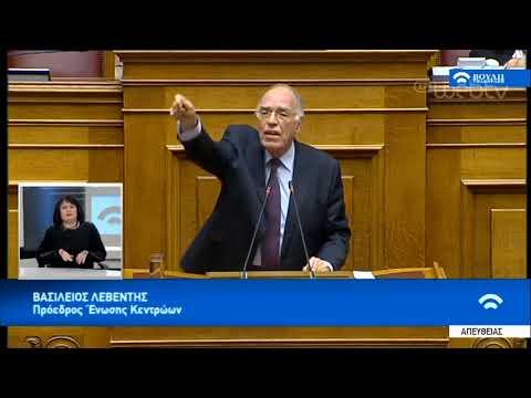 Λεβέντης: Όταν ο κοινοβουλευτισμός αγνοεί τη θέληση του λαού, δεν είναι καλό σημάδι | 16/01/19 | ΕΡΤ