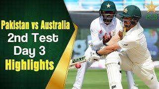 Pakistan Vs Australia   Highlights   2nd Test Day 3   PCB
