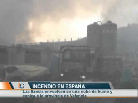LA HERMANDAD DE BOMBEROS / El fuego en Valencia acecha una central nuclear
