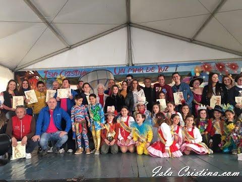 Entrega de los Premios Institucionales del Carnaval de Isla Cristina 2020