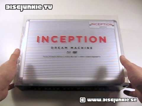 Inception | Dream Machine | Fnac Exclusive | Limited Edition Briefcase (French Blu-ray/DVD Combo)