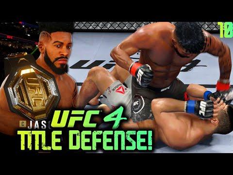 UFC 4 Career Mode #10: Dangerous Title Defense! Conor McGregor Rematch?! UFC 4 Career Mode Gameplay