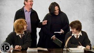 Top 10 Harry Potter Funniest Bloopers