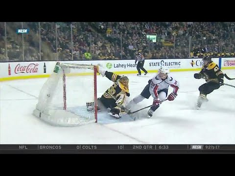 Video: Capitals' Chiasson burries Bruins with shorthanded breakaway beauty