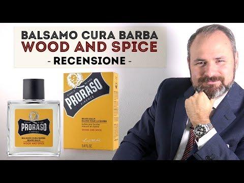 Balsamo cura barba Proraso Wood And Spice