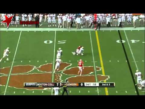 Tajh Boyd vs Boston College 2013 video.