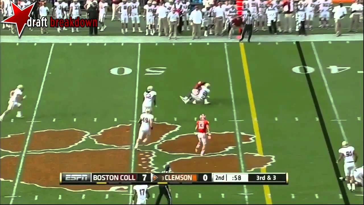 Tajh Boyd vs Boston College (2013)
