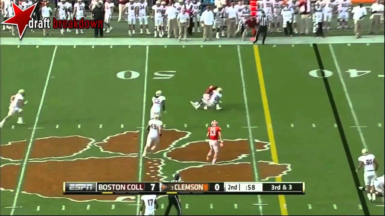 Tajh Boyd vs Boston College (2013)