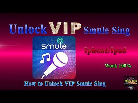 Unlock VIP Smule Sing On IOS Iphone Ipad / How To Hack Smule Sing