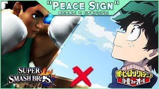 Peace Sign – Smash 4 x My Hero Academia Opening