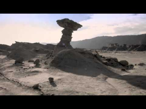 Valle de la Luna en San Juan desde el aire: Impactantes imágenes de cada una de sus formaciones geológicas