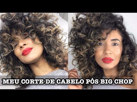 MEU CORTE DE CABELO PÓS BIG CHOP  Por Ticiana Nogueira