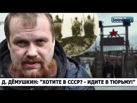 Д. ДЁМУШКИН: «ХОТИТЕ В СССР? – ИДИТЕ В ТЮРЬМУ!»