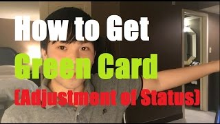 Video Adjustment of Status: How to Get Green Card through Marriage (AOS, I-485) MP3, 3GP, MP4, WEBM, AVI, FLV Oktober 2018
