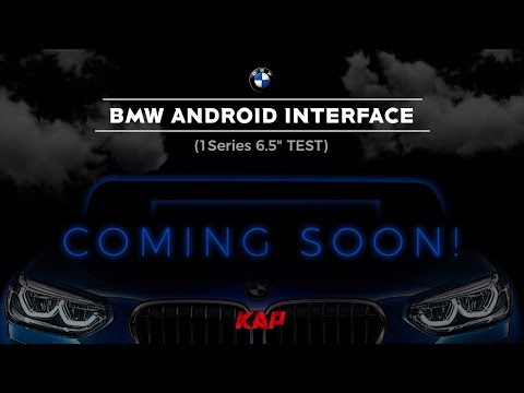 "BMW 1 Series 6.5"" 2018 year (Android Interface Test)"