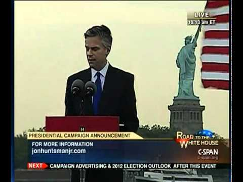 Jon Huntsman Presidential Announcement