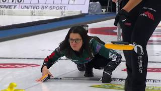 Einarson connects cross-house double takeout image