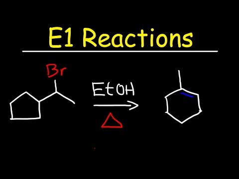E1 Reaction Mechanism With Alcohol Dehydration & Ring Expansion Problems