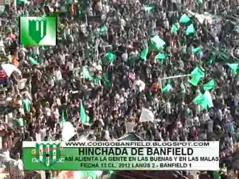 HINCHADA DE BANFIELD- ASÍ ALIENTA LA GENTE EN LAS BUENAS Y EN LAS MALAS 13-5 - La Banda del Sur - Banfield